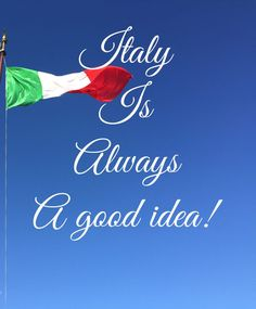 Italy is always a good idea! In fact.. The best idea! Read my latest post on my blog 💋