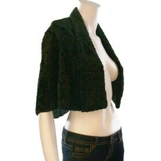 Vintage 1980's Crushed Velvet Capelet Black crushed velvet capelet • Fits modern size one size • Original fabric content label removed, assume fabric content Cotton crushed velvet with Rayon lining • 1980's Vintage Jackets & Coats