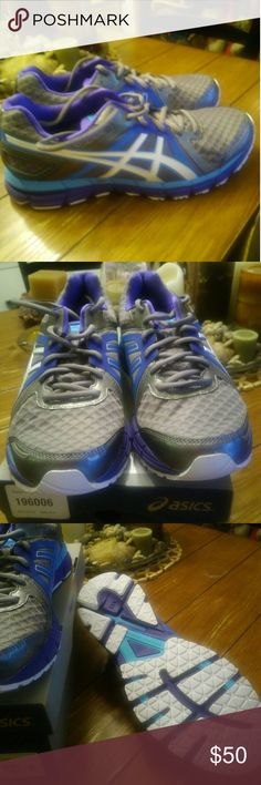 NIB Asics Gel sneakers Bright colors... Stylish for the summer ... Never been worn Asics Shoes Sneakers