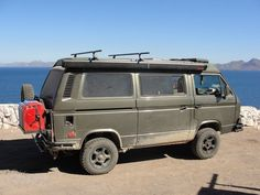 3 Volkswagen Vanagons and a Jetta: How One Family Built Their Westy Syncro