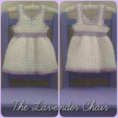 My First Birthday Dress (newborn) Free Crochet Pattern