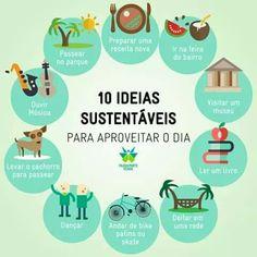 10 ideias sustentáveis!
