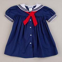 Newborn Nautical Dress