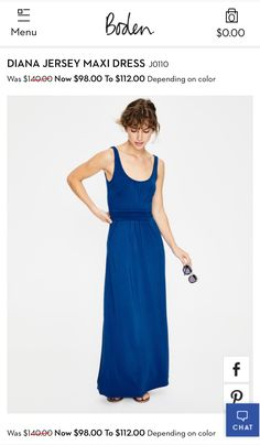 ff64e6b37e4 Women s Sleeveless Knit Surplice Maxi Dress from Lands  End ...