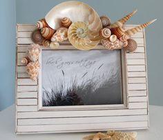 Picture frame idea - Beach theme