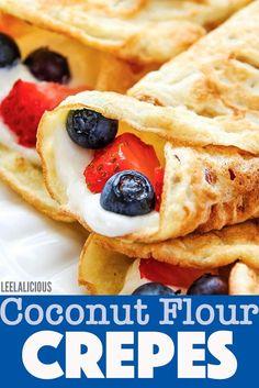 Gluten Free Deserts, Dairy Free Recipes, Low Carb Recipes, Cooking Recipes, Flour Recipes, Healthy Cooking, Paleo Recipes, Yummy Recipes, Healthy Food