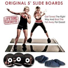 5 & # Foot Obsidian Slide Board - Shut Up and Take My Money - Fat Burning Intense Cardio Workout, Low Impact Workout, Cardio Challenge, Best Fat Burning Workout, Fitness Tips For Women, Get Toned, Muscle Up, Ways To Burn Fat, Back Exercises