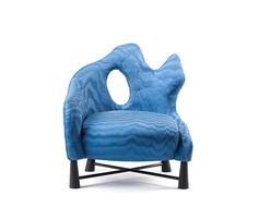 De-Evolution Blue Chair   armchair . Sessel . fauteuil   Design: Brad Ascalon   Dedar  