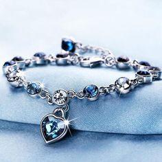 Item Type Bracelets Length 23cm Metals Type Tibetan silver Crystal Bracelets e4b3d8292ad3