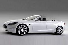 Newport Convertible, Spezialist für Cabrioumbauten aus den USA, hat das Tesla Model S in ein Cabrio verwandelt.
