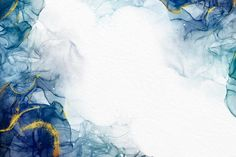 Download Watercolor Wallpaper With Luxurious Golden Accents for free