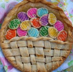Happier Than A Pig In Mud: Easter Basket Pie Crust Decoration