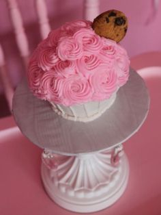 Milk & Cookie First Birthday Smash Cake