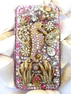 Custom unique one of a kind iPhone cover by Kianaskases on Etsy, $70.00