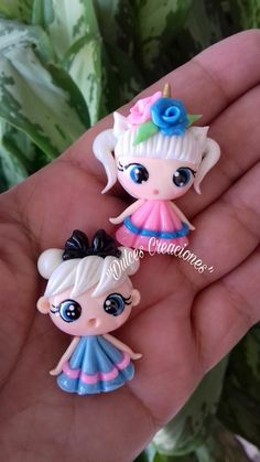 Fimo Disney, Polymer Clay Disney, Cute Polymer Clay, Cute Clay, Polymer Clay Dolls, Polymer Clay Miniatures, Polymer Clay Charms, Polymer Clay Jewelry, Clay Projects