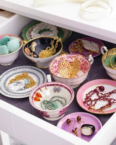 Stylish Jewelry Storage | Martha Stewart Living - Jewelry boxes can be handy, but they can also turn your prettiest baubles into unsightly nests of knots. Here are four display-worthy organizing ideas we're sure you'll take a shine to.