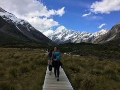 Hooker Valley Track. Mount Cook, New Zealand