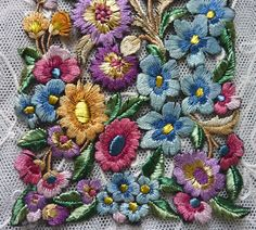 Vintage Embroidery at the Village Hall