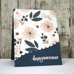 My Impressions: SSS October Card Kit: Adding Details to Patterned Paper (& GIVEAWAY)!