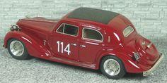 Alfa Romeo 6c 2300 Berlina Mille Miglia 1937 #114 - Alfa Model 43