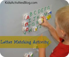 Pre-reading: letter matching activity. Could also do activity matching lower case with upper case letters
