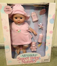 $21.99 Madame Alexander baby Cuddles Christmas in July!  http://stores.ebay.com/NYC-Fitness-Family-and-Finds?_rdc=1