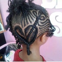 Nice braided kids hairstyle! Kids hair | Natural hair kids For more articles and pictures like this, check out our blog: www.naturalhairki... Natural hair | hair care | natural hair care | kids hair | kids hair care | kid hairstyles | inspiration