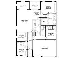 New Home Floorplan Haines City, FL Venice In Haines Ridge