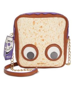 Betsey Johnson Googly Eye Peanut Butter Jelly Crossbody | macys.com