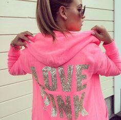 love PINK victoria's secret hoodie