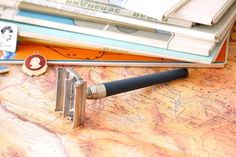 Gillette Safety Razor Vintage Razor Made in England Adjustable Shaving Razor #Gillette