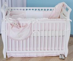 Monogram Collection Crib Set