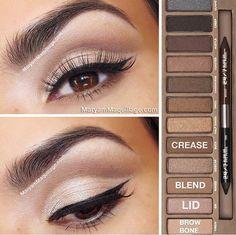 Make-Up Tips for Brown Eyes   herinterest.com