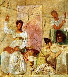 Pompeii wall art