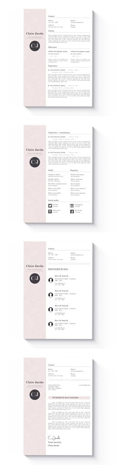 => PROMOCODE: 2 resumes for 18$ USD, use code RESUME <=  Welcome to the CvDesignCo! Every Resume we design is remarkable. We believe that our work will significantly increase your chances to get a job you want. Cv Design, Resume Design, Cv Template, Resume Templates, Microsoft Word 2007, Cv Cover Letter, Perfect Resume, Simple Resume, Resume Cv