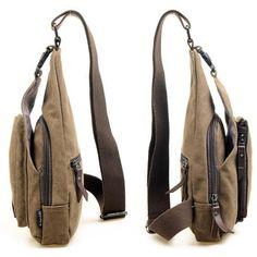 Men Messenger Bags Casual Outdoor Travel Sport Canvas Shoulder Bag