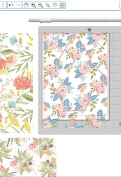 DIY Double Sided Floral Envelopes
