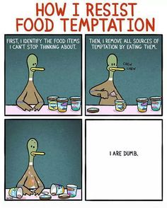 Resisting the #temptations of #food. We can try, but we all know what happens in the end :P#yummy #foodlover #foodie #foodieproblem #eating