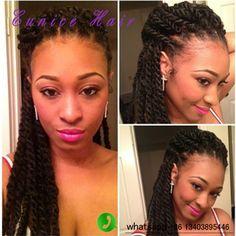 2x Havana Mambo Twist Hair Pretwisted Braids Hair