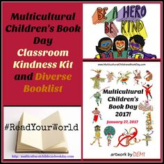 FREE Classroom Kindness Kit from Multicultural Children's Book Day