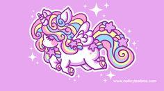 Resultado de imagem para unicorn cute wallpaper