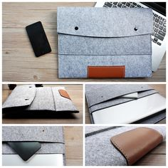 Fashion 11,13,15 inch Wool Felt Hand Hold Inner Notebook Laptop Sleeve Bag Case Carrying Handle Bag For Macbook Air/Pro/Retina-in Laptop Bags & Cases from Computer & Office on Aliexpress.com | Alibaba Group
