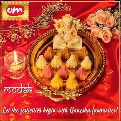 Its the celebration time for all because bappa is coming to our home. Let's celebrate his homecoimg with his favourite modak. #modak #ganpatibappamorya #ganeshchaturthi Om Sweets, Lets Celebrate, Ganesha, Celebration, Birthday Cake, Snacks, Let It Be, Desserts, Tailgate Desserts
