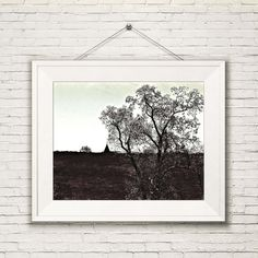 Neutral rustic wall art that enhances your walls but  won't compete with the rest of the decor