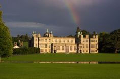 Audley End House is located just outside of the town of Saffron Walden in Essex