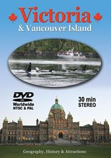 Variety Sales Travel DVD Canada Souvenir Video Victoria & Vancouver Island  This fascinating and professionally produced tour covers all the main attractions from telegraph Cove to Victoria including: Parliament Buildings, Butchart Gardens, Royal BC Museum, Victoria Harbour Ferries, Empress Hotel, Craigdarroch castle, Government Street, Royal London Wax Museum, Beacon Hill Park, Pacific Undersea Gardens, Long Beach, Tofino, Ucluelet, Telegraph Cove, whale watching, wildlife, resorts and…