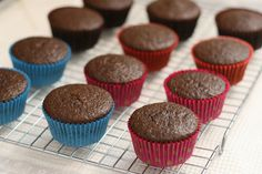 {Cupcake Basics} How to Bake Cupcakes // Has great info on how much to fill the liners and bake depending on type of batter.