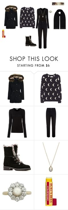 """""""Lynn Holford Outfit #2"""" by bookprincess-313 on Polyvore featuring Boohoo, Chinti and Parker, James Perse, AG Adriano Goldschmied, Stuart Weitzman, Burt's Bees and William Sharp"""