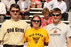Old Grad Pride! Family and friends at the Graduation Ceremony for West Point Class of 2012! Get your Old Grad shirt here: http://www.westpointgiftstore.com/products2.cfm/ID/1942