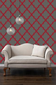 Wallpaper always give a room something to look at!  Wallpaper Your World and Fabric and Wallpaper Outlet 2234 Rawlins St. Snellville GA 30078
